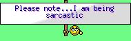:sarcastic: