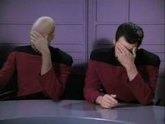 Double Facepalm: Ricker & Picard