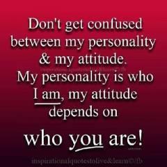 Personality V Attitude