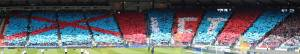 Scottish Cup Final Card Display Panorama