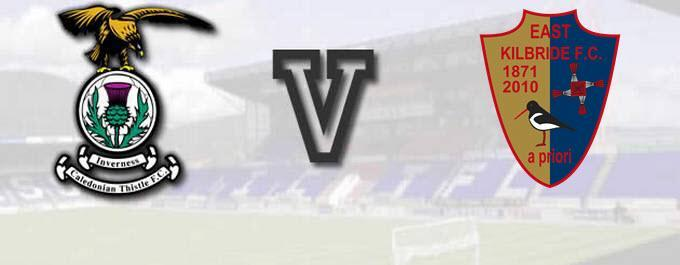 Inverness CT -V- East Kilbride - Sc Cup - Report