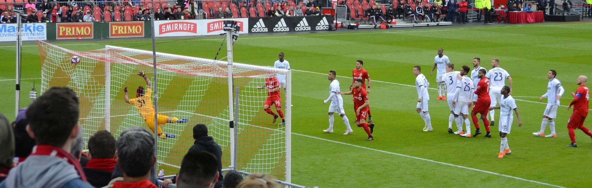 TFC lose to the Union