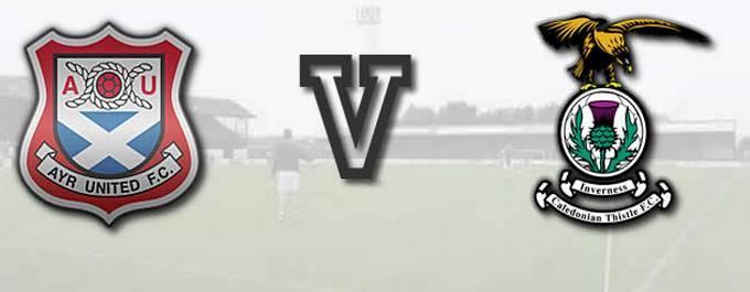 Ayr Utd -V- Inverness CT