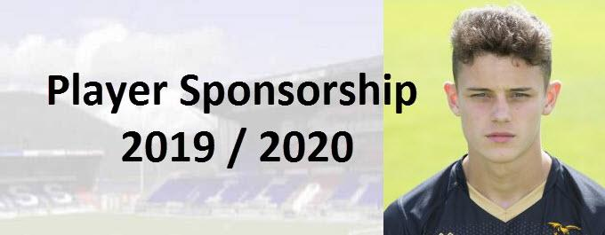Player Sponsorship 2019/20