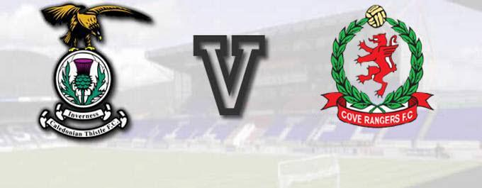 Inverness CT -V- Cove Rangers - League Cup - Report
