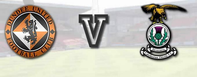 Dundee United -V- Inverness CT - Report