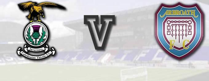 Inverness CT -V- Arbroath - Report