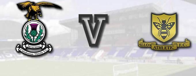 Inverness CT 2-V-2 Alloa Athletic - Report