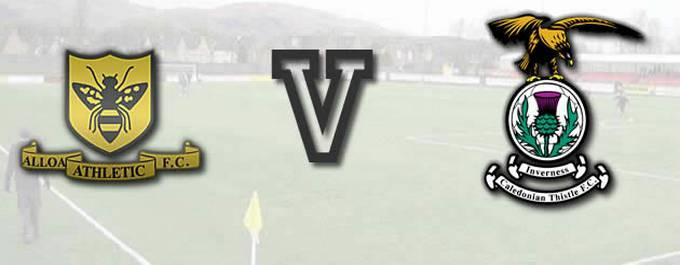 Alloa 0 -V- 2 Inverness CT - Report