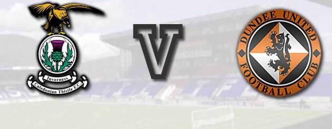 Inverness CT 0-V-3 Dundee United-Report
