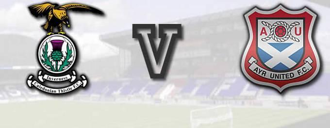 Inverness CT -V- Ayr Utd