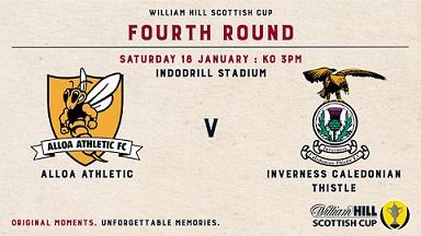 Alloa Athletic -V- Inverness CT - ScCup - Preview