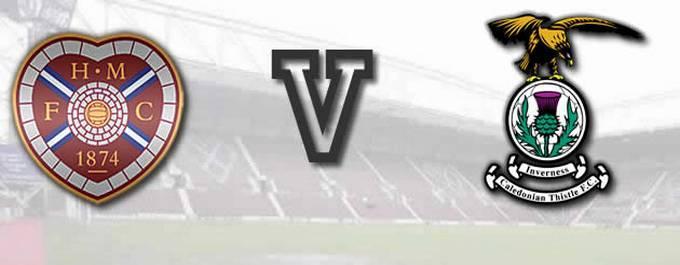 Hearts -V- Inverness CT - LC