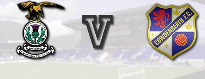 Inverness CT 0 (4) - 0 (2) Cowdenbeath LCup - Report